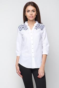 Блузка с вышивкой на плечах Marimay