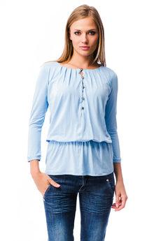 Блузка с резинкой на поясе Mondigo