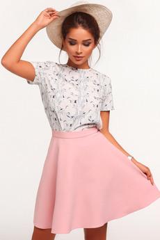 Пышная юбка с высокой талией Mollis со скидкой