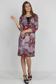 Платье со шнуровкой Bast